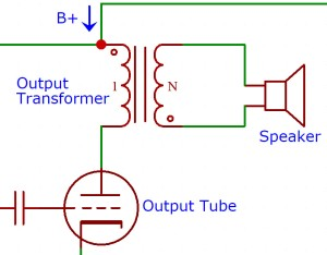 simple output stage