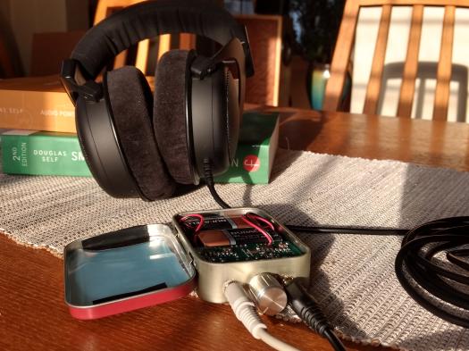 done with headphones