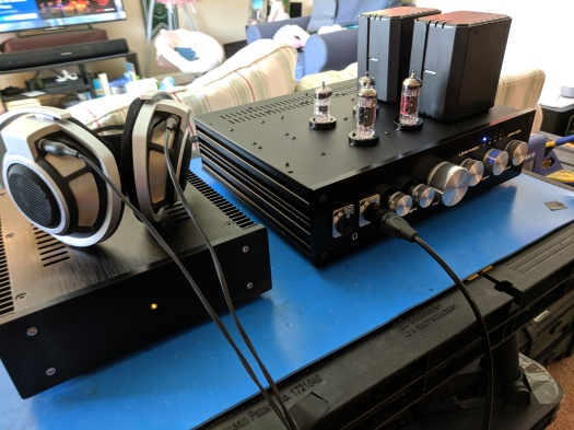 Bad Hombre tube headphone amplifier in the wild – wauwatosa